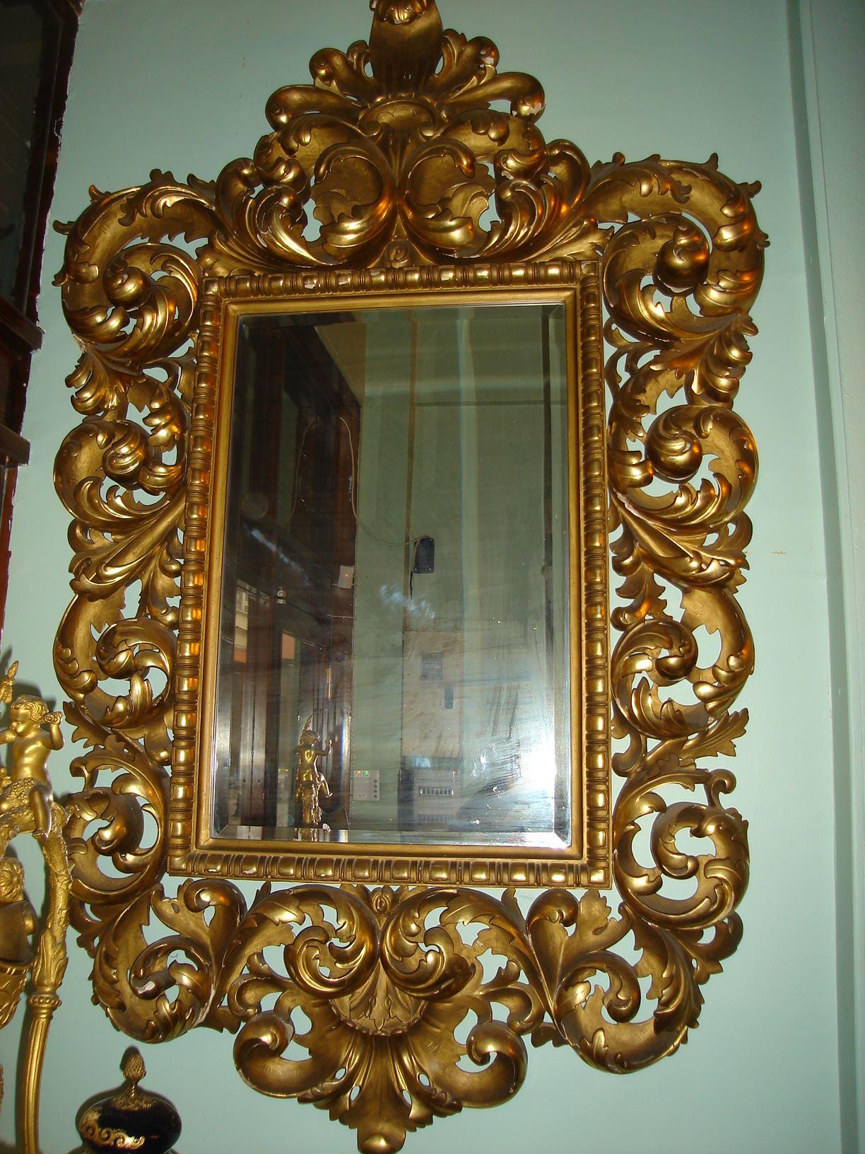 17.yy Venedik Varak Ayna